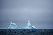 Iceberg drifting into Baffin Bay