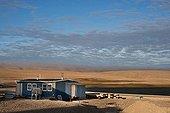 To Resolute Bay Inuit community on Cornwallis Island ; Latitude: 74 °.45'N, Longitude: 94°.58' W