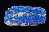 Chalcantite originaire de l'Arizona USA ; Longueur : 10 cm. Sous-classe des Sulfates hydratés. Collection École des mines