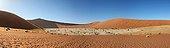 DeadVlei Clay pan Sossusvlei Namib Desert