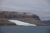 Glacier on Devon Island Lancaster sound Nunavut Canada