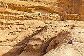 Wadi Rum desert region in Jordan
