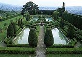 La Gamberaia gardens in Toscany  Italy