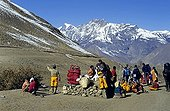Sherpas, Annapurna region, Himalayas, Nepal, Asia