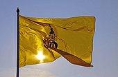 The royal flag of Thailand