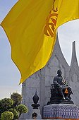 Statue of Rama III., Bangkok, Thailand, Asia