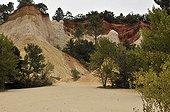 Ochres of Rustrel in Provence France