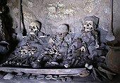 Pre-Inka Mummies in a cave, Uyuni Highlands, Bolivia