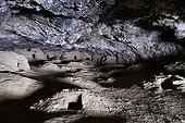 Pre-Inka graves in a cave, Uyuni Highlands, Bolivia
