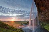 Seljalandsfoss waterfall, southern Iceland, Europe