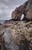 Arche naturelle de la pointe de Dinan Bretagne France