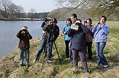 Birdwatching on the banks of the Doubs France