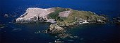 Rouzic island which houses a colony of gannets France