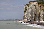 Sea kayaks Pourville-sur-Mer Manche France