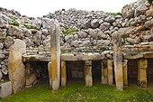 Megalithic Temples of Ggantija Malta Gozo