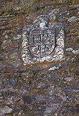 Coat of arms Real Almonaster Sierra de Aracena Andalusia