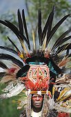 Performers from Jiwaka tribe in the Western Highlands PNG