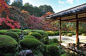 Shisendo temple garden in autumn  Japon