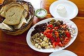Salade Pain et Fromage de Gozo Victoria Rabat Gozo Malte
