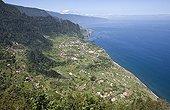 Sao Jorge north of the island of Madeira