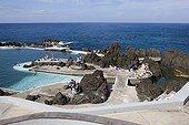 Natural pools of Porto Moniz on Madeira Island