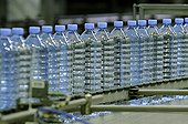 Production and mineral water bottling France
