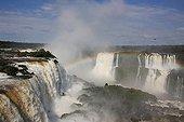 Cataracts of the Devil's Throat Iguazu Falls Brazil