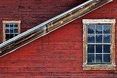 Old Copper Mine Kennicott Mine Alaska USA  ; Old copper mine, very active in the last century