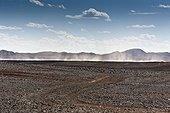 Sand Storm Sahara Desert Morocco