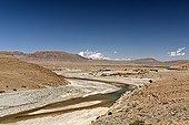 Landscape in the province of Errachidia Morocco