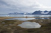 Coastal landscape Spitsbergen