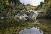 Devil's Bridge on the River Ardèche Cevennes France