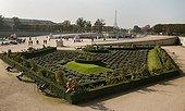 Tuilerie gardens in Paris ; Designed by André Le Nôtre