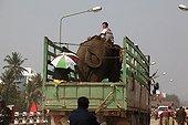 Transport Asian Elephant truck Xayabury Laos
