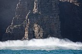 Rocks at Wild Coast South Africa Indian Ocean