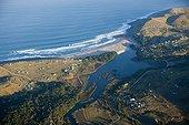 Landscape of Wild Coast Mbotyi Eastern Cap South Africa
