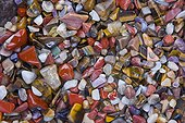 Semiprecious stones for sell at Swakopmund in Namibia ; KRISTALL GALERIE