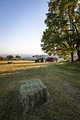 Haystack and tractor - Préalpes d'Azur RNP  France