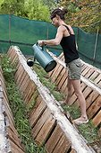 Spraying Brown Gardensnails Livestock - France