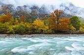 Ordesa Valley in Autumn - Pyrenees Spain