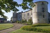 Château de Carles garden - Gironde - France
