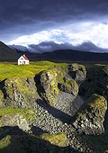 Traditional house - Snæfellsnes Peninsula Iceland