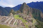 Huayna Picchu above the ruins of Machu Picchu - Peru