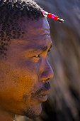 Portrait of a Man Bushman - Kalahari Botswana