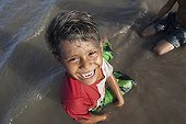 Children playing in the Amazon - Brazil Amapa
