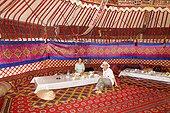 Touristes dans une  Yourte - Ayaz Kala Khorezm Ouzbékistan