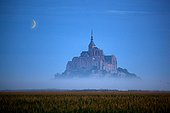 Mont St. Michel at Dawn - Normandy France