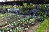 Kitchen garden at Jardins fruitiers de Laquenexy ; Le potager d'un épicurien