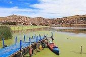 Dock on Lake Titicaca - Puno Peru