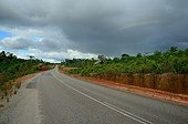Route d'Apatou - Guyane Française